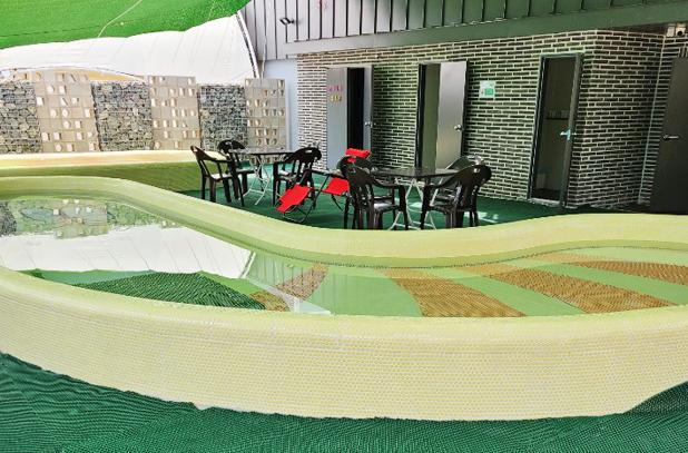 루프탑실외수영장