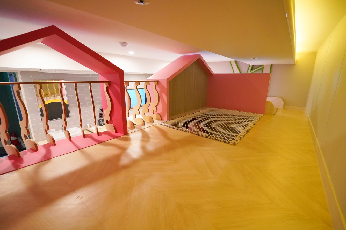 루프탑 패밀리 글램핑룸